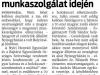 Kelet M. 2014.11.14-én  5. oldal cikk N